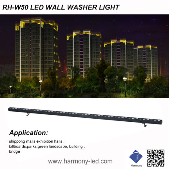 Fashionable Exterior Design LED Linear Light IP65 10W Wall Washer Light