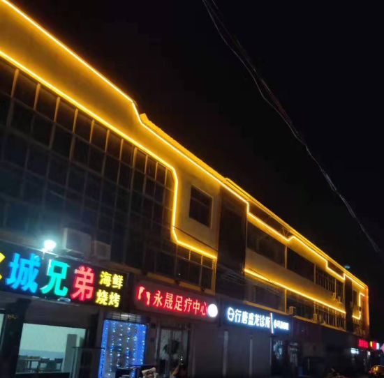 Advertising Lighting Hot Sale 10W DC24V IP65 LED City Color Lighting